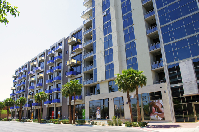 Courtesy of Bryan Hainer Juhl, 353 E. Bonneville Ave., is a mixed midrise and high-rise property that includes towers ranging from six to 15 stories and 341 lofts that measure from 600 to 2,200 sq ...
