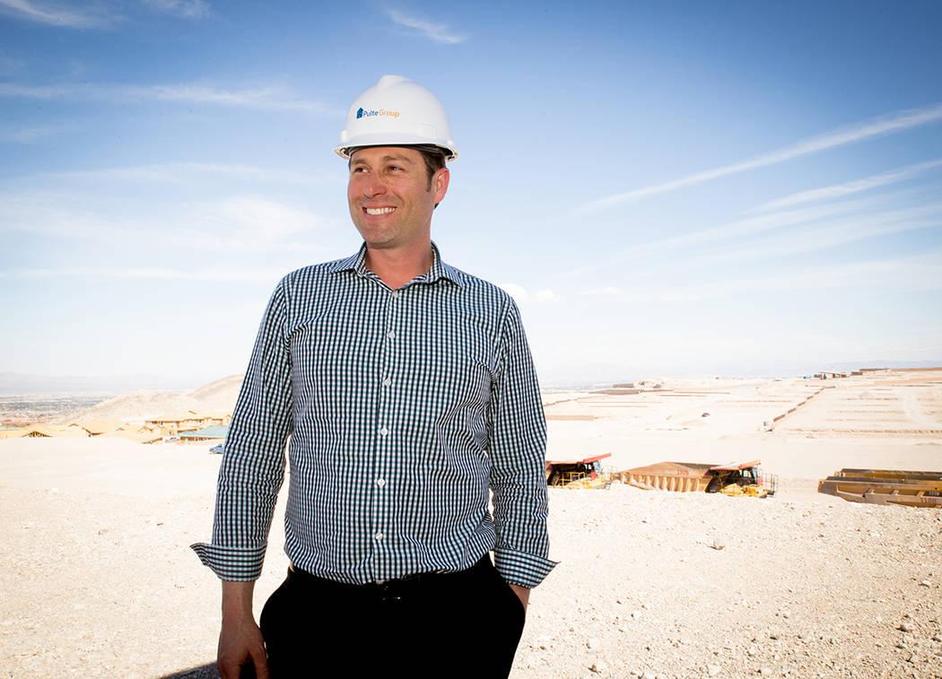 Jason Demuth, Division Director of Marketing and Market Intelligence, PulteGroup. (TONYA HARVEY/RJNewHomes.Vegas)