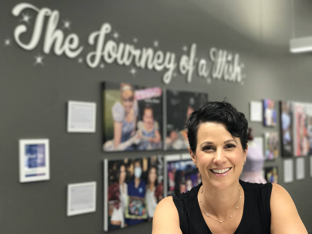 Caroline Ciocca, president and CEO of Make-A-Wish Southern Nevada. (Courtesy)