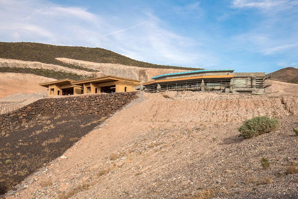 Local architect Richard Luke is building six luxury homes in MacDonald Highlands in Henderson. (David Reisman)