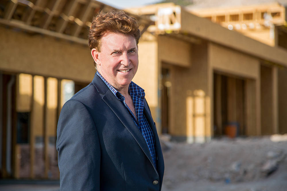 Las Vegas Architect Richard Luke has partnered with Five Star Properties Collection LLC to build luxury homes in MacDonald Highlands in Henderson. (David Reisman)