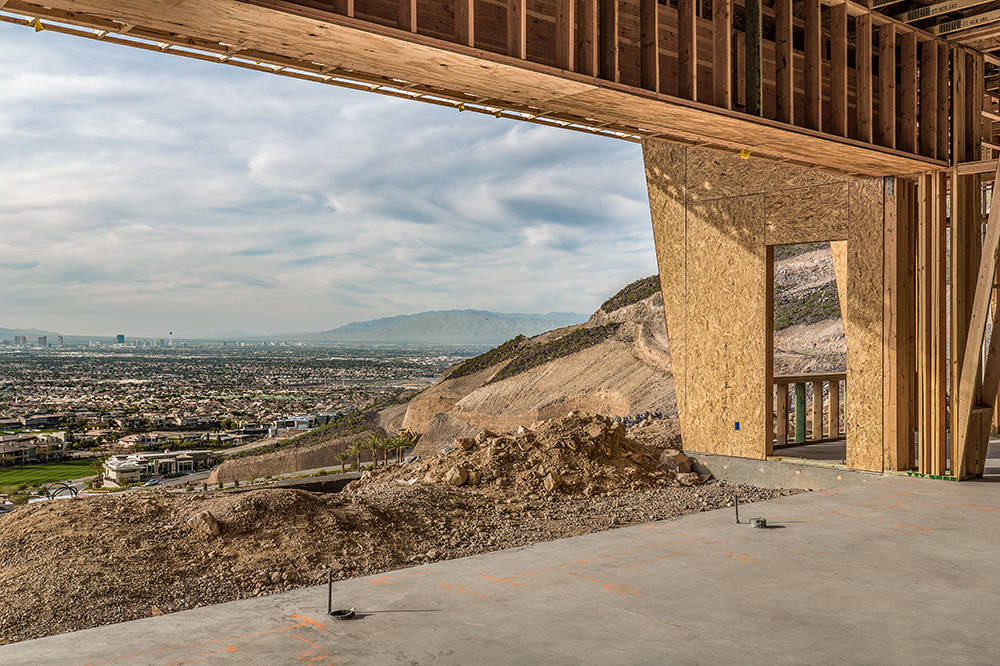 This home will have sweeping views of the valley. (Richard Luke Architects)
