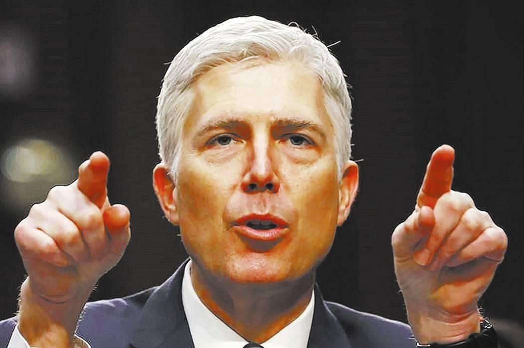 U.S. Supreme Court nominee judge Neil Gorsuch. REUTERS/Jonathan Ernst