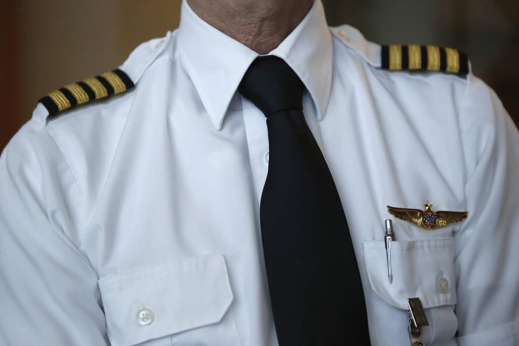 A pilot at the Boulder City Municipal Airport in Boulder City on Wednesday, April 5, 2017. Christian K. Lee Las Vegas Review-Journal @chrisklee_jpeg