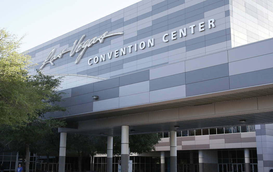 The Las Vegas Convention Center on Monday, April 3, 2017. (Bizuayehu Tesfaye/Las Vegas Review-Journal) @bizutesfaye