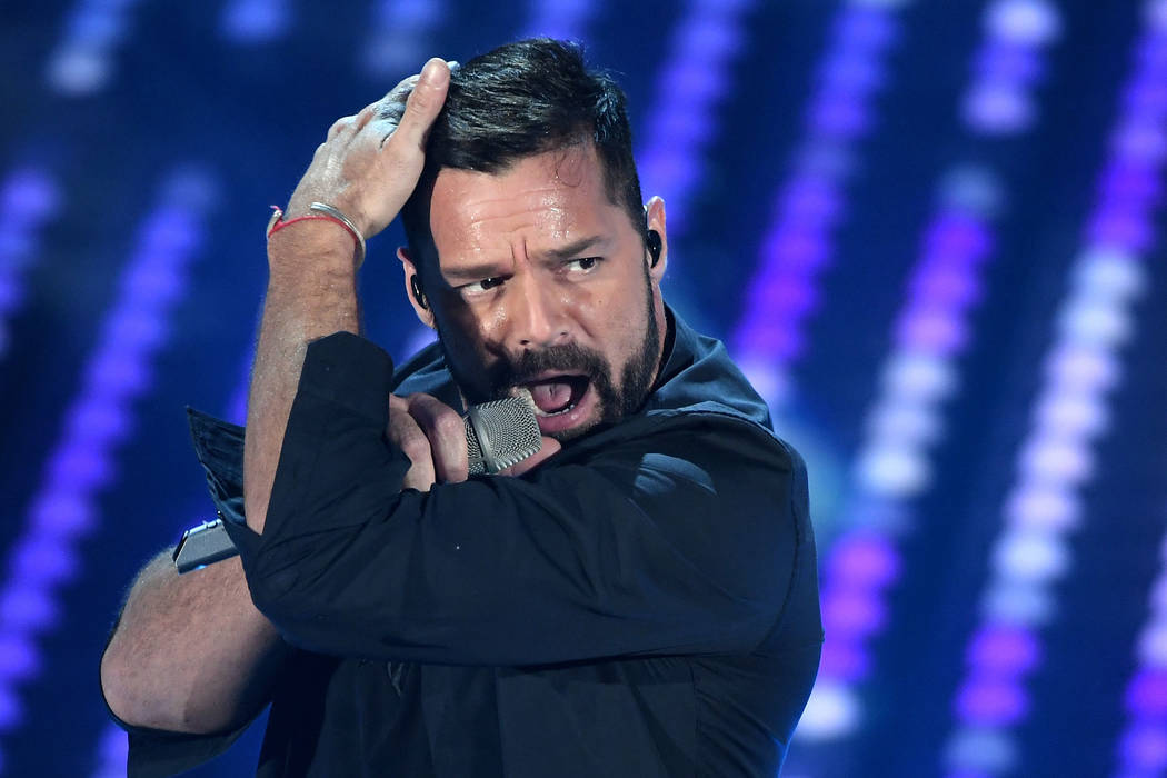 Ricky Martin 67th Festival of Italian Song, Show, Sanremo, Italy - 07 Feb 2017 (Rex Features via AP Images)