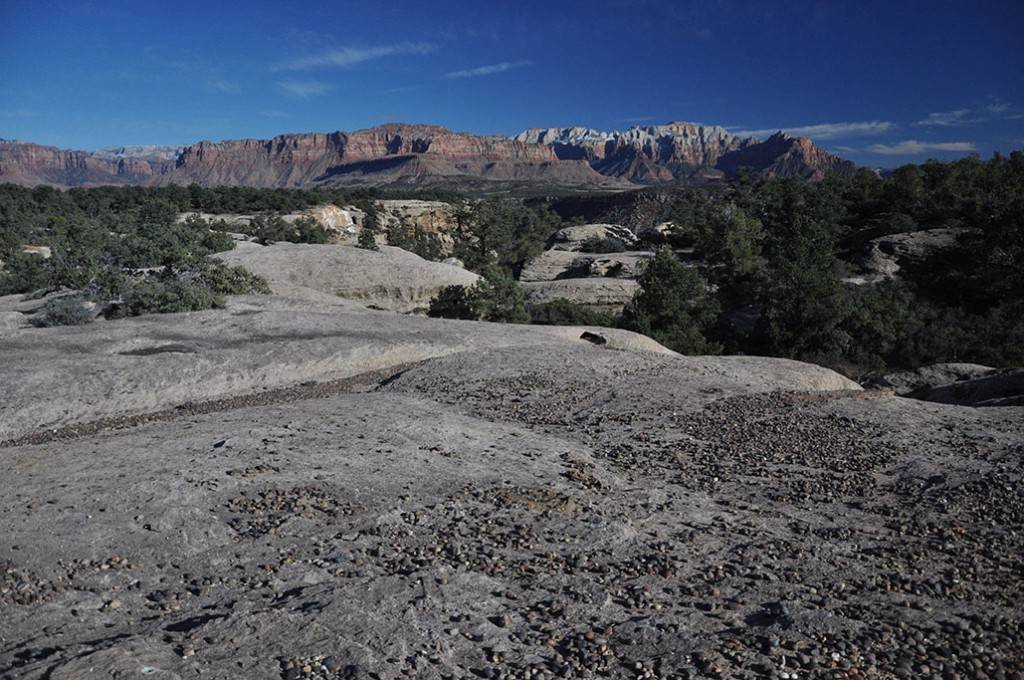 Once proposed for possible wilderness designation, this federal land near Zion National Park, Utah, could be leased for oil and gas exploration in September. (Luke Henry/Southern Utah Wilderness A ...