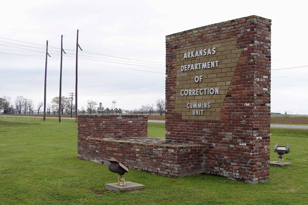 Eight prisoners are scheduled to be executed in Arkansas in a 10-day period in Varner, Arkansas. (Kelly P. Kissel/AP)