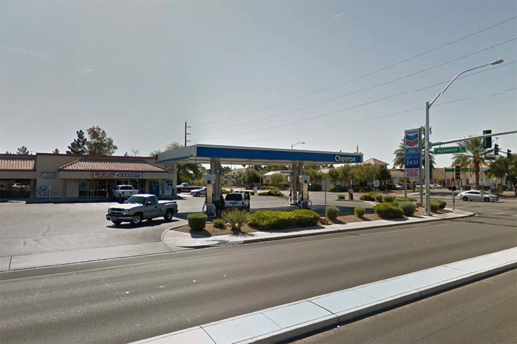 Short Line Express at 4004 N. Tenaya Way was robbed by two men early Tuesday morning, April 4, 2017. (Google Street View)