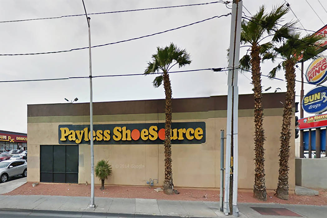 Payless shoe store (Google Street View)