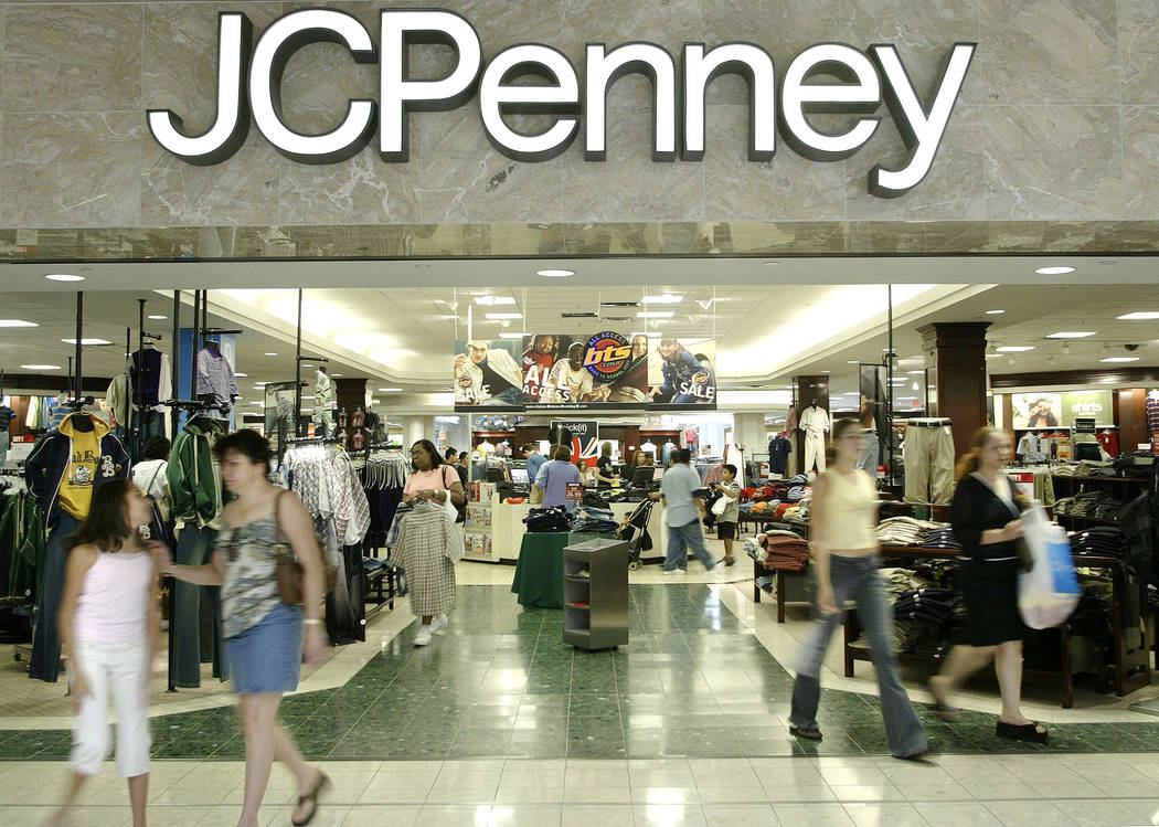 J.C. Penney's will close its store at Boulevard Mall in Las Vegas. (Matt Slocum/AP)