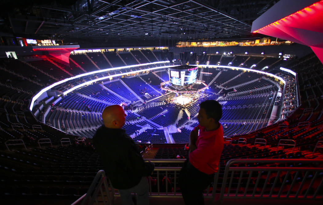 T Mobile Arena Finishes First Year With Strong Reception