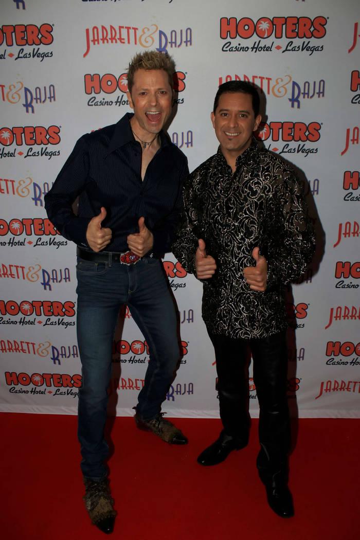 "Opening night of Jarrett & Raja's ""Magician vs. Maestro"" at Hooters Casino on Monday, April 3, 2017, in Las Vegas. (Ira Kuzma)"