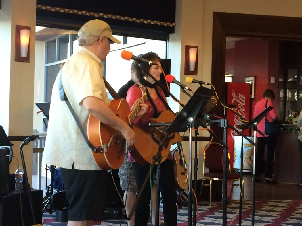 The Melanie Spector trio performs March 15, 2017 at The Summit, 2215 Thomas W. Ryan Blvd., as part of Open Mic night. They've performed at restaurants, bars, farmer's markets, festivals, club  ...
