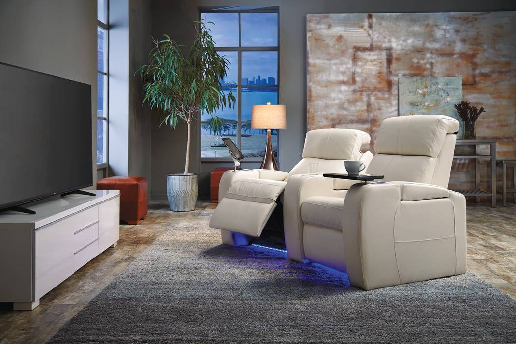 Palliser The Flicks is one of Palliser's most popular home theater seating styles.