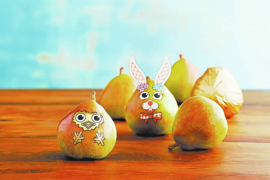 3 unexpected gifts for your easter basket las vegas review journal easter pear decorating kit is a healthy holiday alternative harry david negle Images