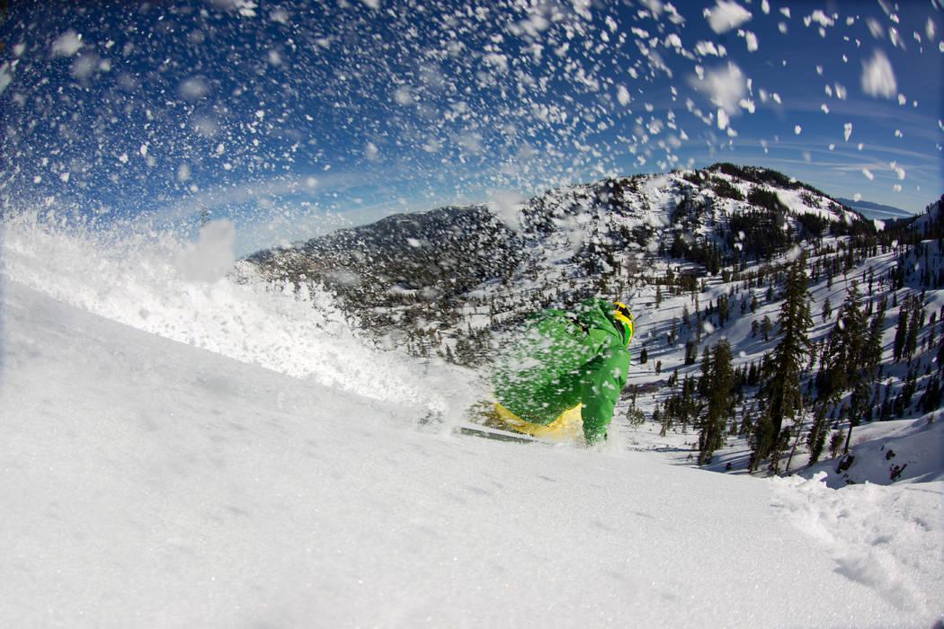 (Jeff Engerbretson Alpine Meadows Ski Resort)