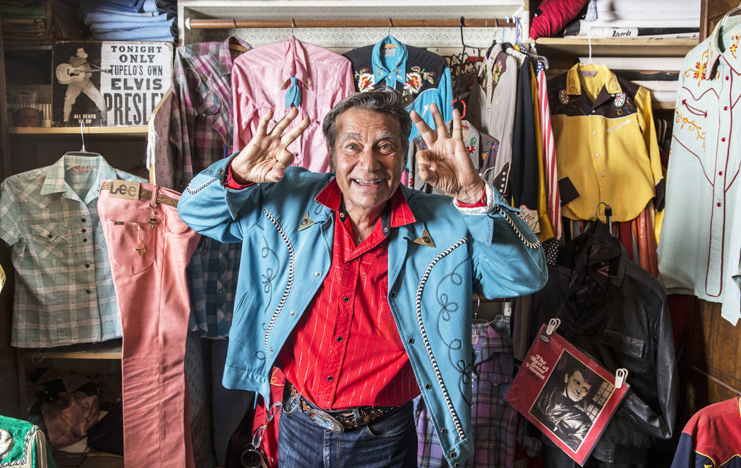 """Rockin' Ronny Weiser is celebrating the 20th anniversary of his Viva Las Vegas pre-party coined """"International Rockabilly Rebels Meet & Greet."""" Photo taken on Saturday, April ..."""