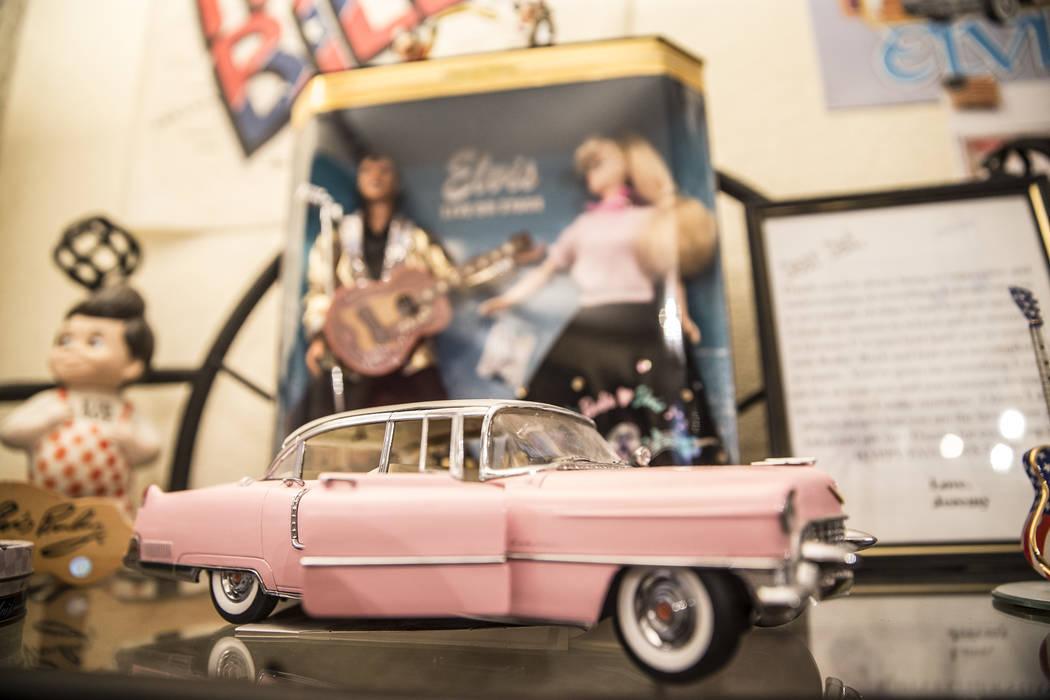 Rockabilly memorabilia and news clippings fill multiple rooms in Rockin' Ronny Weiser's Las Vegas home on Saturday, April 1, 2017, in Las Vegas. (Benjamin Hager/Las Vegas Review-Journal) @benjamin ...