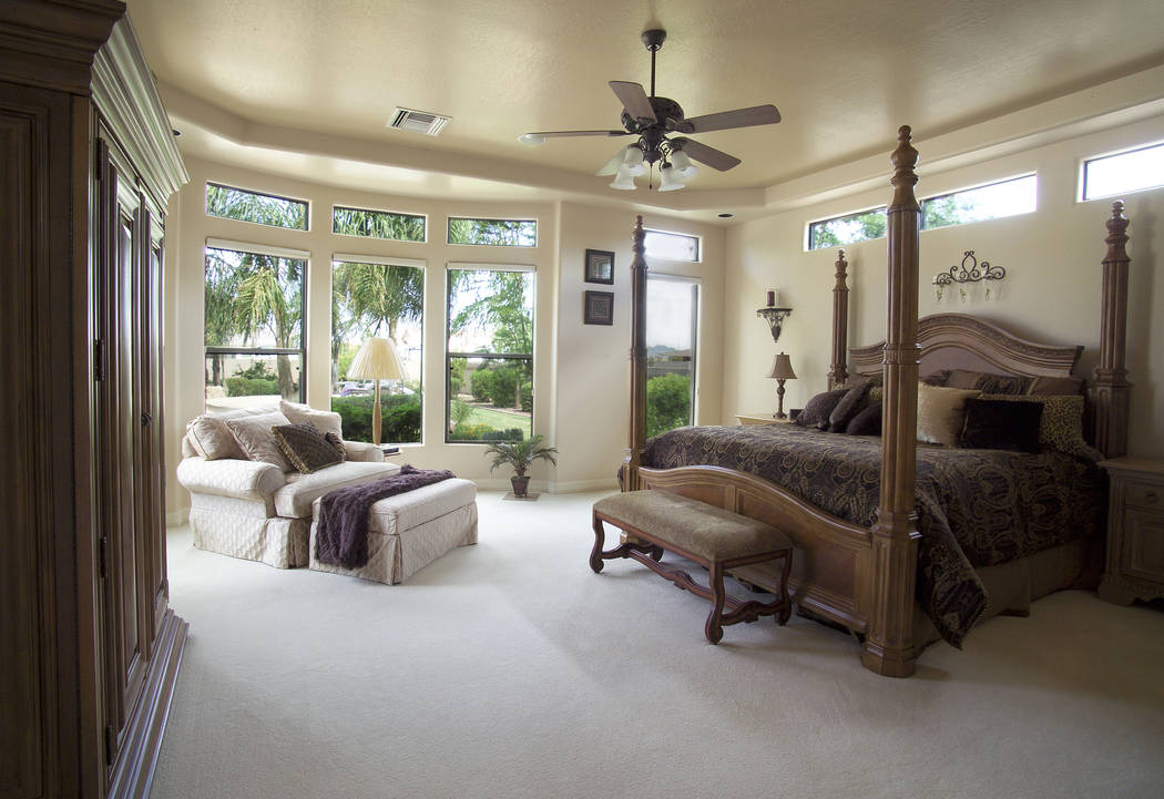 Thinkstock A Ceiling Fan Will Help Cool The Bedroom In The Summer.