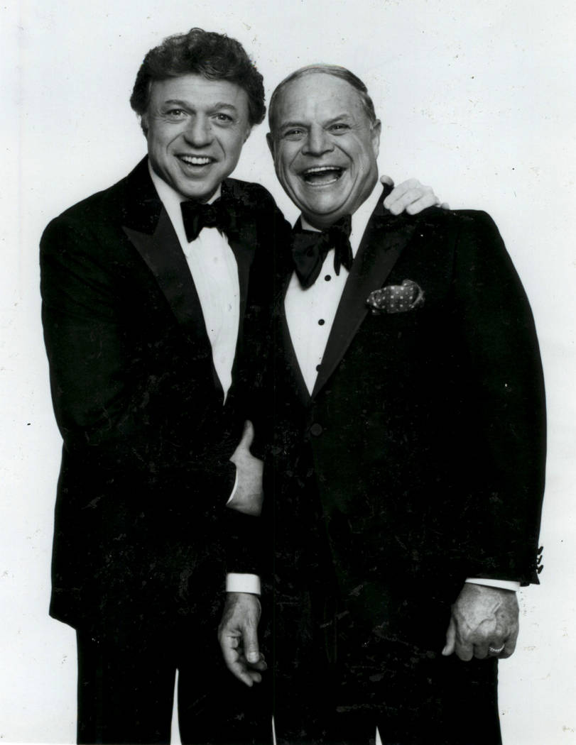 Steve Lawrence with Don Rickles. (Courtesy)