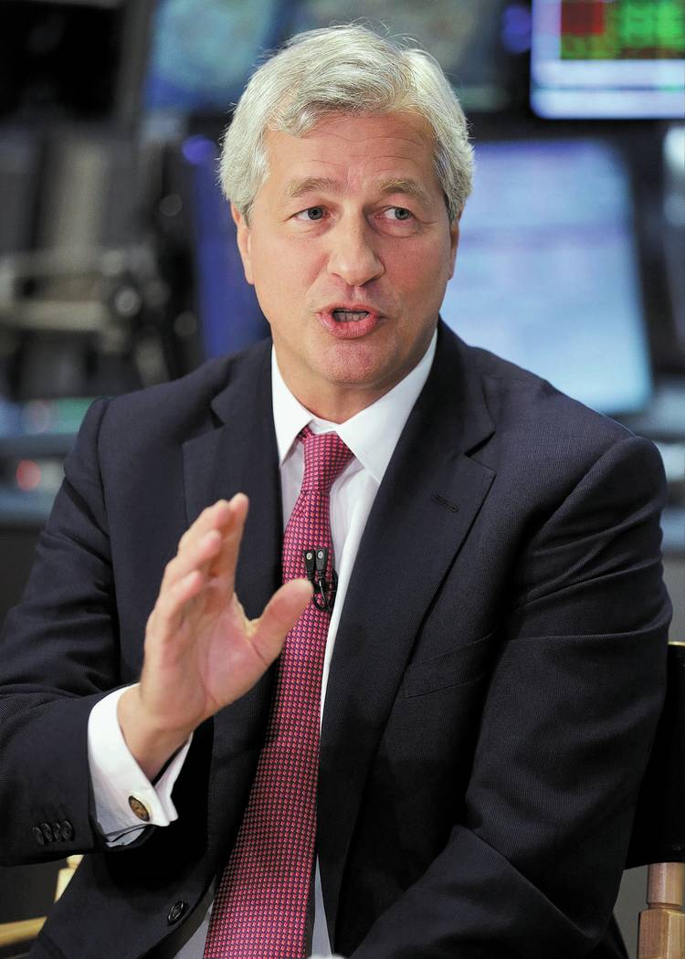 James Dimon. AP Photo/Richard Drew