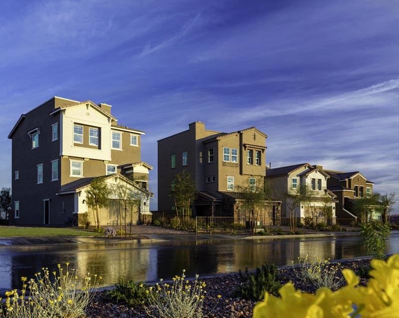 COURTESY CalAtalntic is building in Cadence, a new Henderson master-planned community.