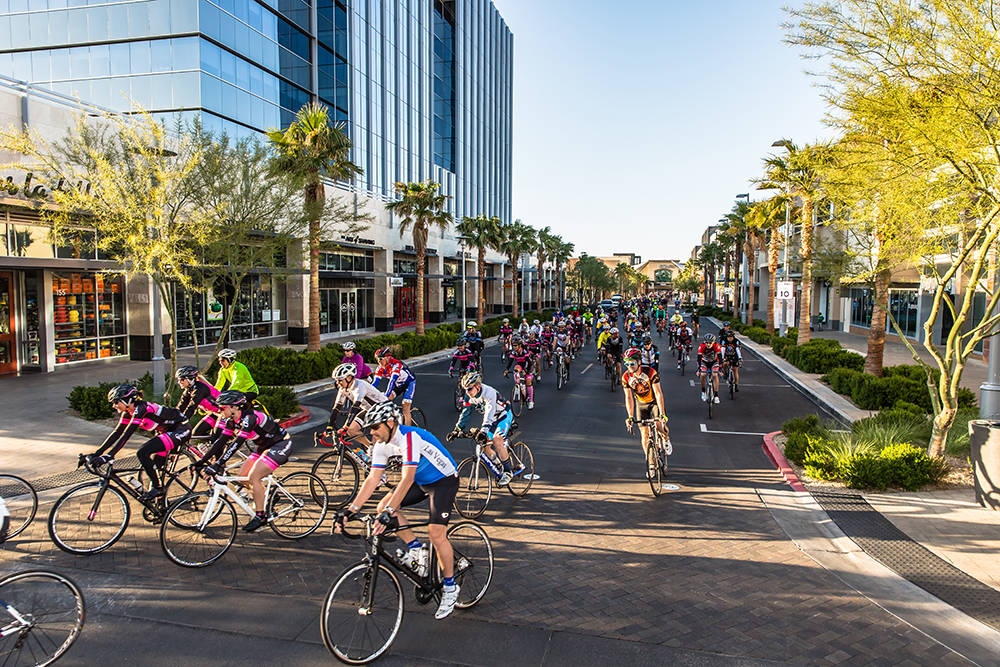 Tour de Summerlin, Southern Nevada's longest-running and noncompetitive cycling event, kicks off Wellness Weekend in Downtown Summerlin on April 22. The weekend event also includes the Summerlin ...