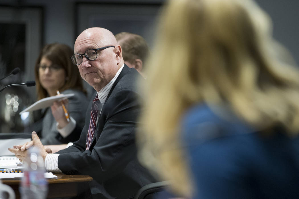 Las Vegas Convention and Visitors Authority President and CEO Rossi Ralenkotter during a board meeting at the Las Vegas Convention Center on Tuesday, April 11, 2017, in Las Vegas. Erik Verduzco La ...