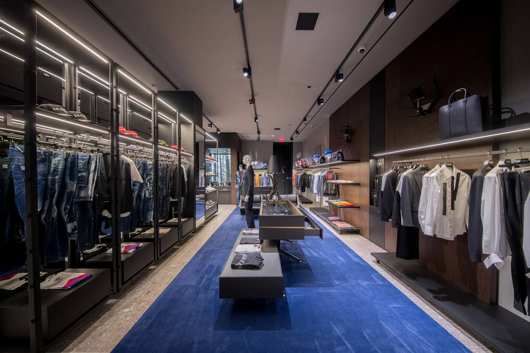 Dsquared2 recently opened a flagship store at The Shops at Crystals at CityCenter on the Strip. (Dsquared2)