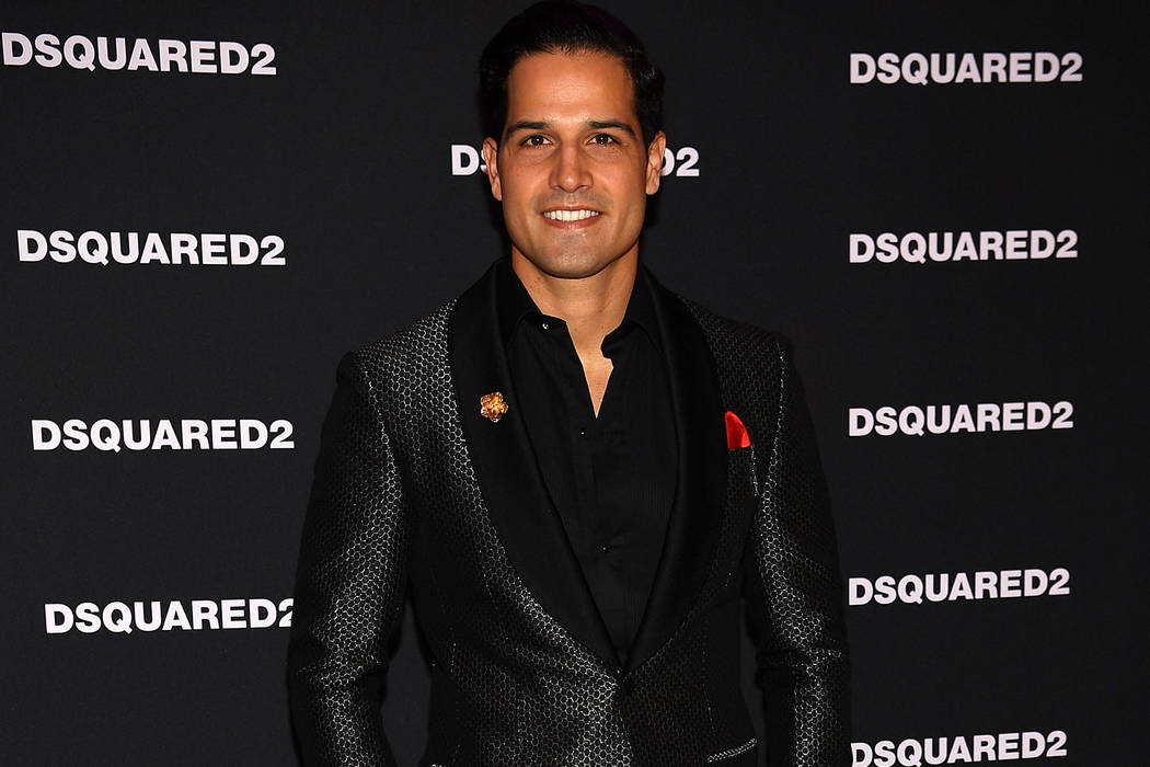 Professional BMX rider and television personality Ricardo Laguna attends the grand opening party for Dsquared2 at The Shops at Crystals on April 6, 2017 in Las Vegas, Nevada. (Denise Truscello/Get ...