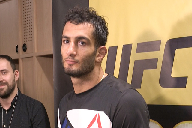 UFC middleweight Gegard Mousasi says he wants to face a name opponent. (Heidi Fang/Las Vegas Review-Journal)