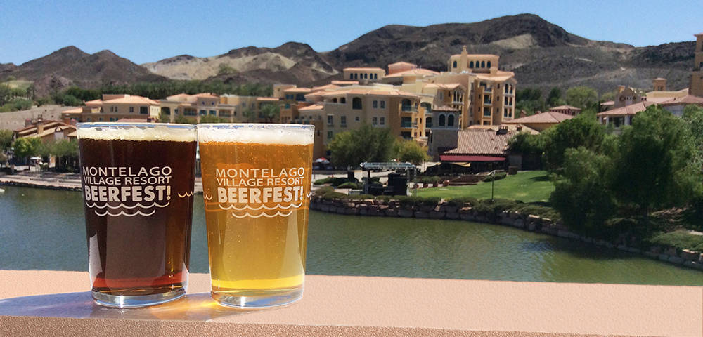 Mark your calendar for the April 29 MonteLago Village Beerfest featuring craft beer tasting stations, jazz bands and more by the Lake Las Vegas lake. (Courtesy)