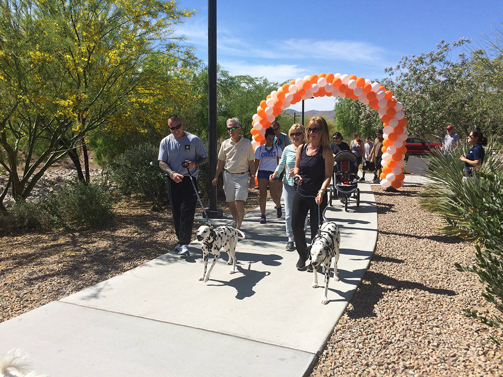 Bring friends, family and pets to the Las Vegas Take Steps for Crohn's & Colitis walk on April 29 at Exploration Park in Mountain's Edge to help those suffering from digestive diseases. (C ...