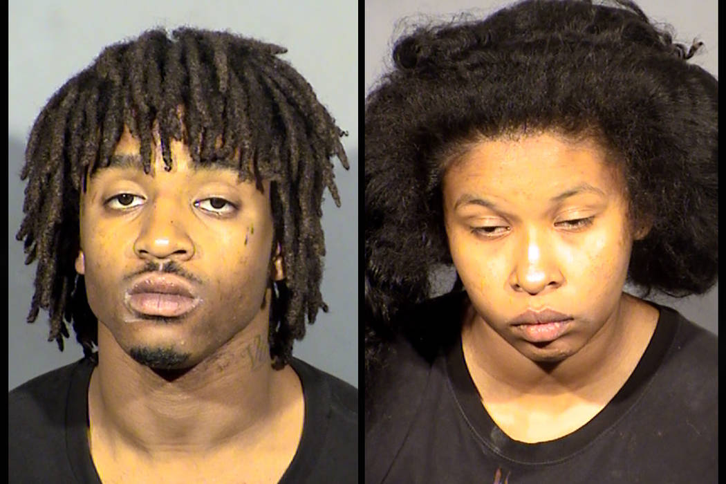 Terhain Woods and Zjustyka Brooks. (Las Vegas Metropolitan Police Department)