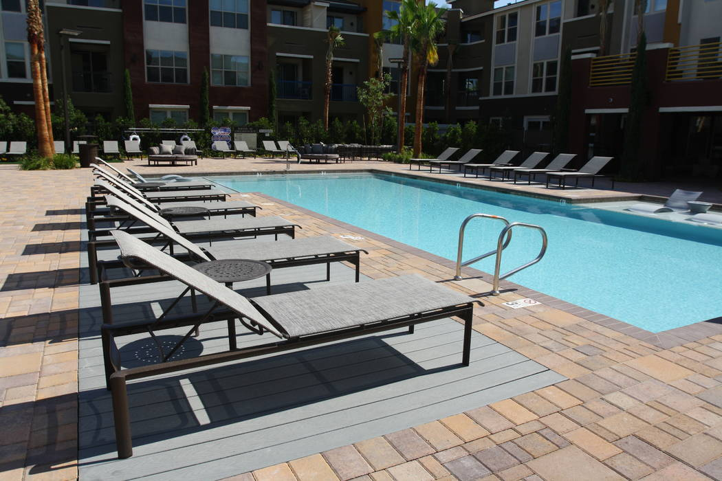 Mary Vail Trex deck is incorporated in the pool decking at a high-end, multifamily complex to define a specific lounging area. The woodlike design of this eco-friendly product makes it popular in  ...