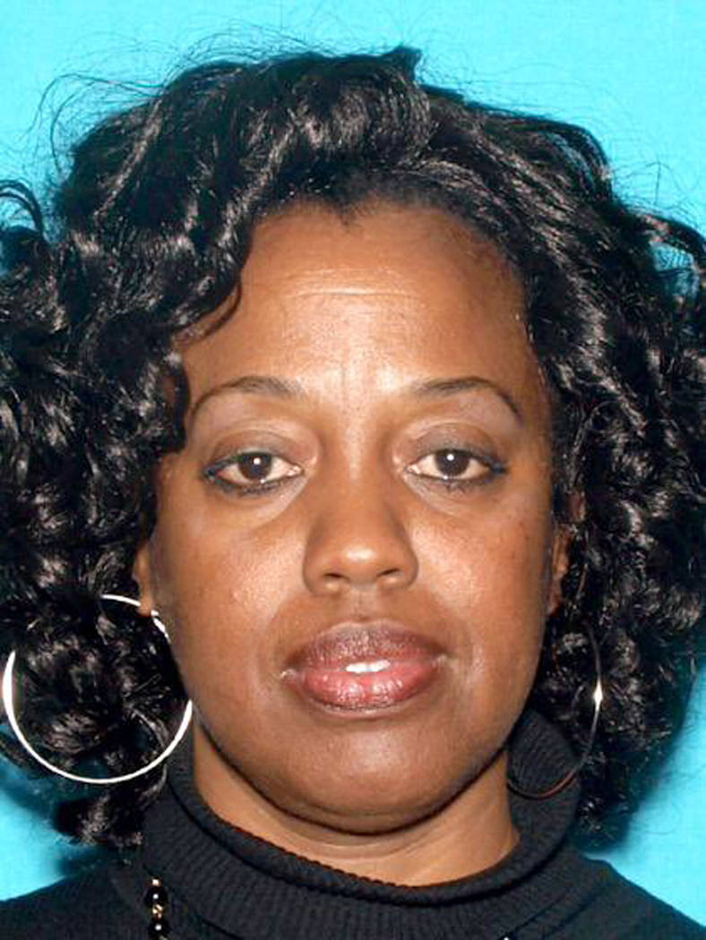 This undated photo released by the San Bernardino Police Department shows Karen Elaine Smith, 53. Smith has been identified by authorities as one of the people shot by Cedric Anderson, identified  ...