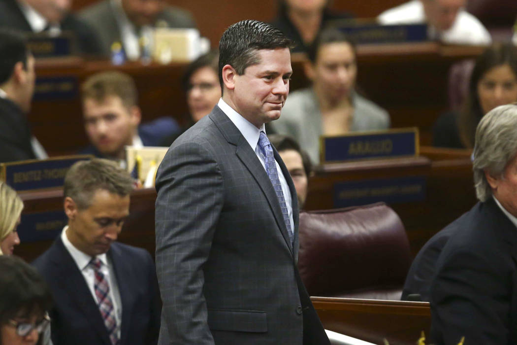 Assemblyman Steve Yeager, D-Las Vegas (Chase Stevens/Las Vegas Review-Journal) @csstevensphoto