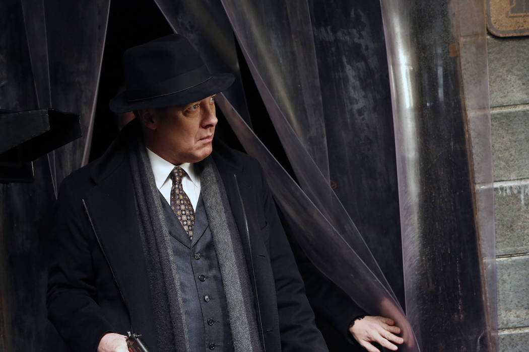 "THE BLACKLIST:Episode 416 ""Dembe Zuma"" .  James Spader as Raymond ""Red"" Reddington. (Will Hart/NBC)"