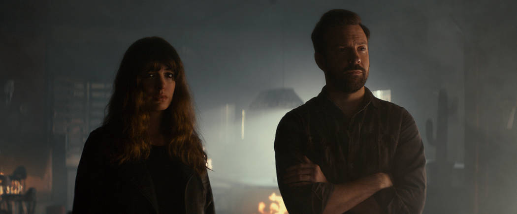 """Anne Hathaway and Jason Sudeikis star in """"Colossal."""" (NEON)"""