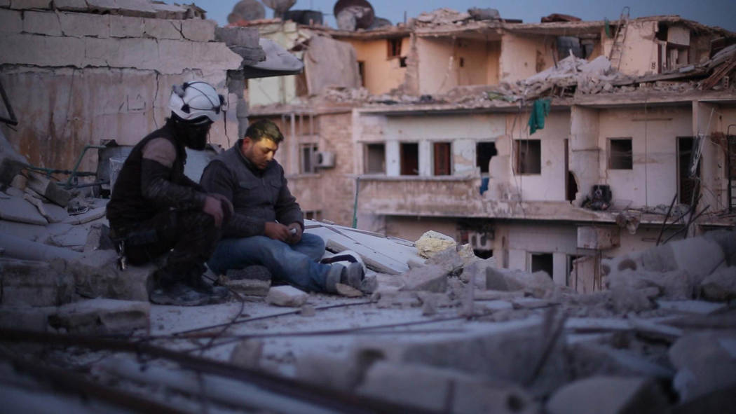 Khalid appears in <i>Last Men in Aleppo</i> by Feras Fayyad and Steen Johannessen, an official selection of the World Cinema Documentary Competition at the 2017 Sundanc ...