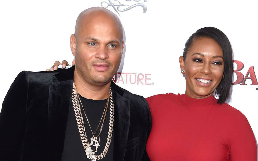 Stephen Belafonte and Mel B. (Courtesy)