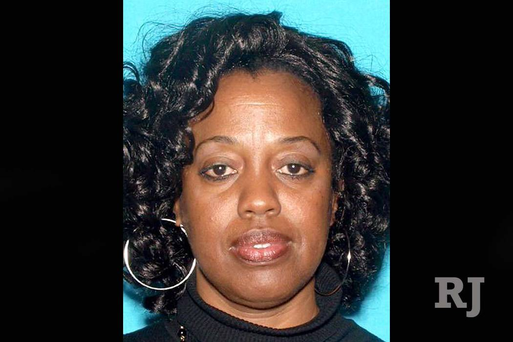 Karen Elaine Smith, 53, was shot and killed by Cedric Anderson, identified as her estranged husband, as she taught a special education class at North Park Elementary School in San Bernardino, Cali ...