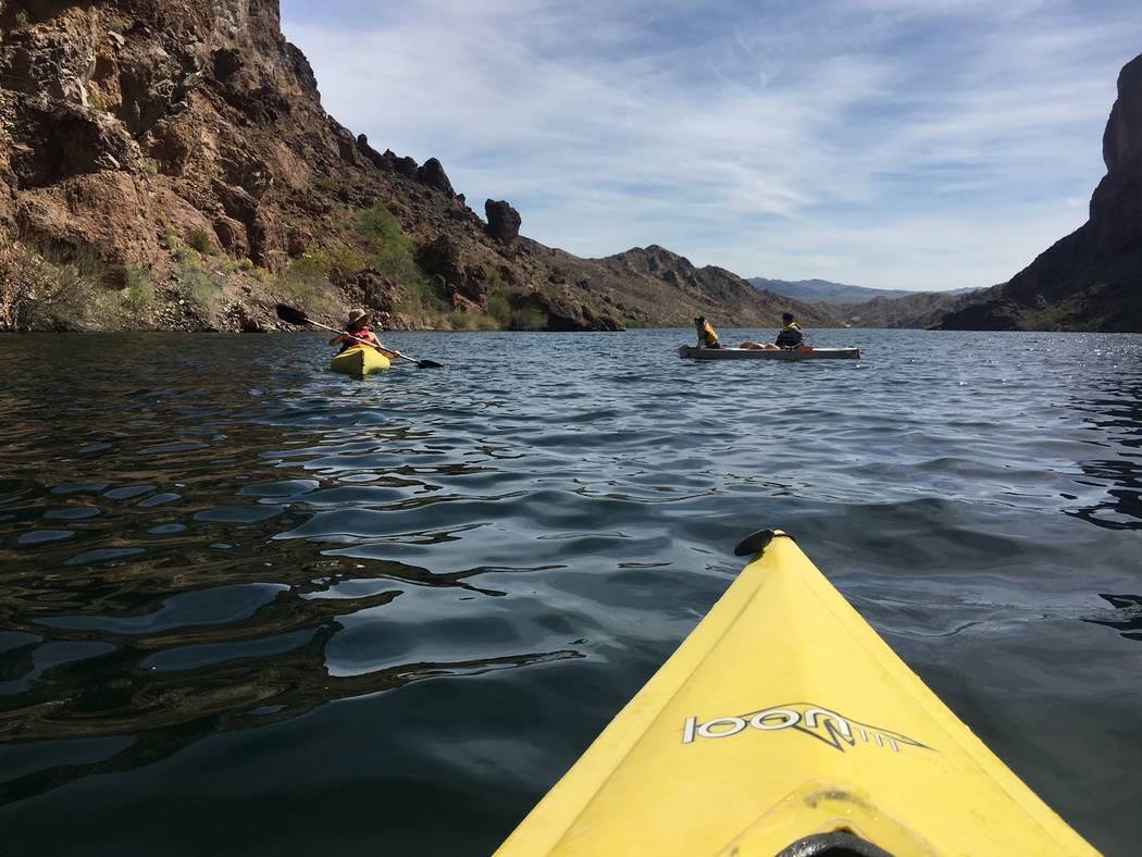 The Colorado River near Willow Beach, Ariz. on Saturday, March 18, 2017. Janna Karel Las Vegas Review-Journal