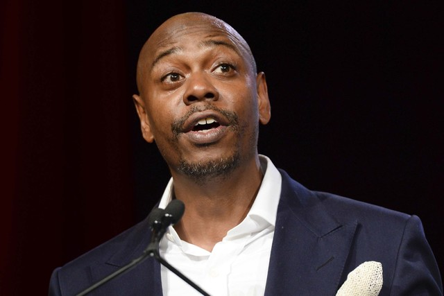 Comedian Dave Chappelle will perform in Las Vegas on May 5. (Scott Roth/Invision/AP, File)