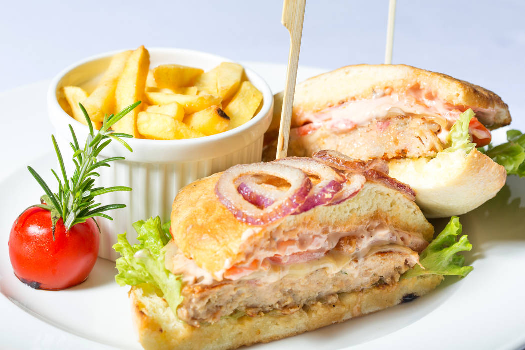 Pork Tenderloin Sandwich. Thinkstock