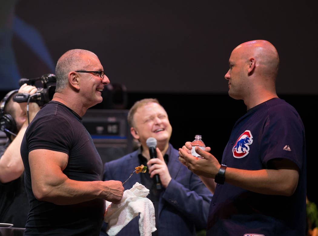 "Robert Irvine presents ""Robert Irvine Live"" at Tropicana on Thursday, April 6, 2017, in Las Vegas. (Erik Kabik)"