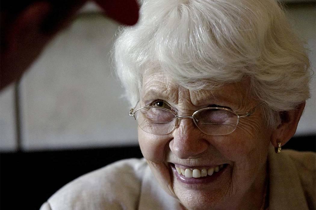 David Letterman's mother, Dorothy Mengering, seen in a May 16, 2004, file photo. (Kurt Hostetler/The Star Press)