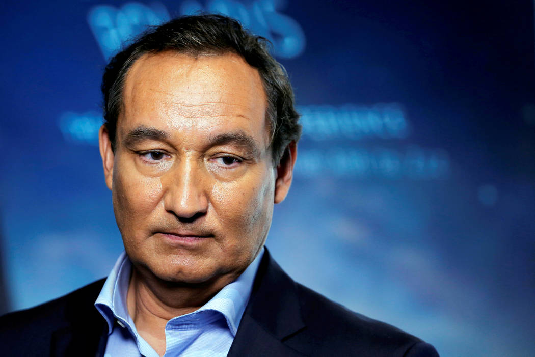 Chief Executive Officer of United Airlines Oscar Munoz on June 2, 2016. (Lucas Jackson/Reuters)