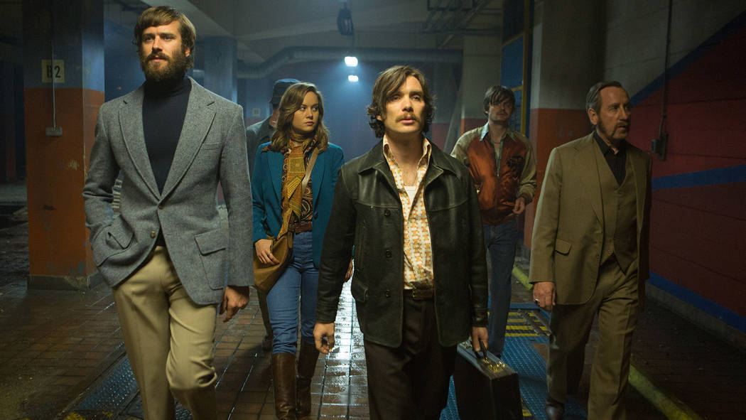 "Armie Hammer, Brie Larson, Cillian Murphy, Sam Riley and Michael Smiley star in ""Free Fire.""Kerry Brown, A24"